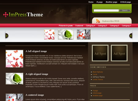 Impress WordPress Theme