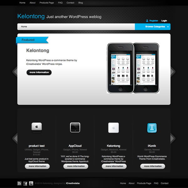 Kelontong e-Commerce Theme